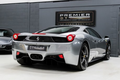 Ferrari 458 ITALIA 4.5 V8 DCT COUPE. SORRY, THIS VEHICLE IS NOW SOLD. 9