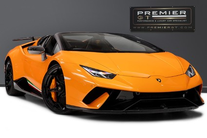 Lamborghini Huracan LP 640-4 PERFORMANTE 5.2 V10 SPYDER. FULL PPF. LIFTING SYSTEM. HUGE SPEC.
