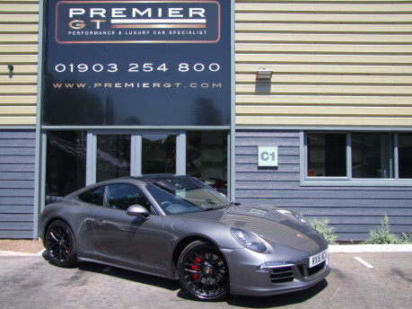 Porsche 911 991 CARRERA 4 GTS 3.8 PDK COUPE, SPORT CHRONO PACKAGE, 430 HP POWER KIT