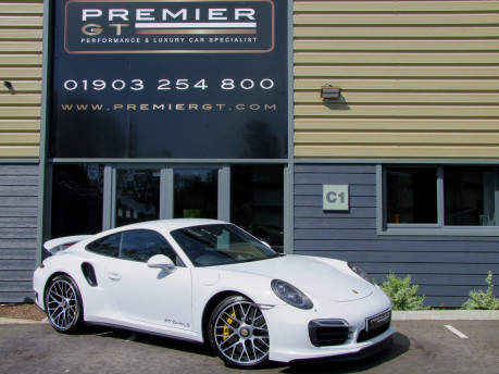 Porsche 911 991 TURBO S PDK, EXTENDED PORSCHE WARRANTY TO MAY 2020, PCCB, SPORT CHRONO