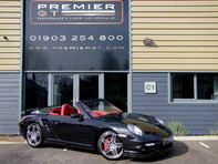 Porsche 911 997 GEN 1.5 3.6i TWIN-TURBO MANUAL CONVERTIBLE, SPORTS CHRONO PACKAGE PLUS 53