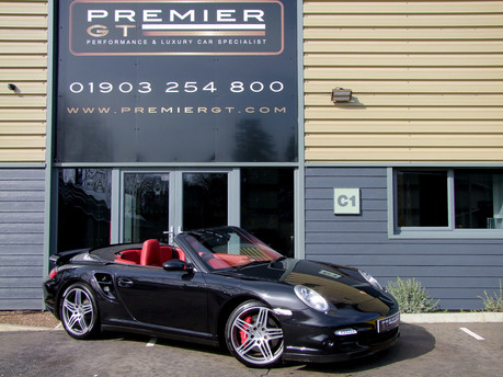 Porsche 911 997 GEN 1.5 3.6i TWIN-TURBO MANUAL CONVERTIBLE, SPORTS CHRONO PACKAGE PLUS