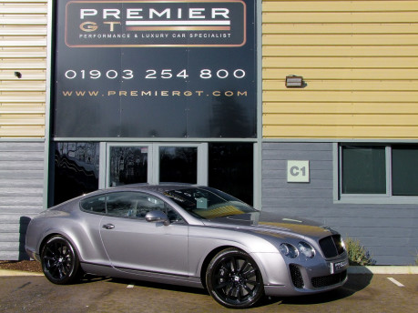 Bentley Continental GT SUPERSPORTS 6.0 W12 TWIN TURBO COUPE. SORRY, THIS VEHICLE IS NOW SOLD.