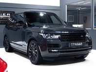 Land Rover Range Rover AUTOBIOGRAPHY 5.0 SUPERCHARGED V8. NOW SOLD. SIMILAR VEHICLES REQUIRED. 8