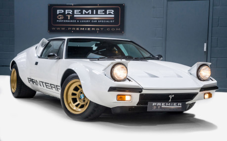 De Tomaso Pantera FANTASTICALLY RESTORED. SORRY, NOW SOLD. SIMILAR VEHICLES REQUIRED.