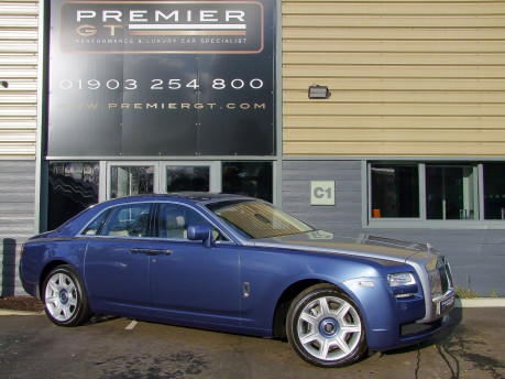 Rolls-Royce Ghost 6.6 V12 Saloon. SORRY, THIS VEHICLE IS NOW SOLD.