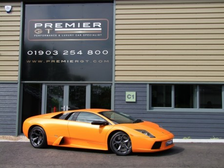 Lamborghini Murcielago 6.2 V12 LP580 4WD MANUAL COUPE. SORRY, THIS VEHICLE IS NOW SOLD.