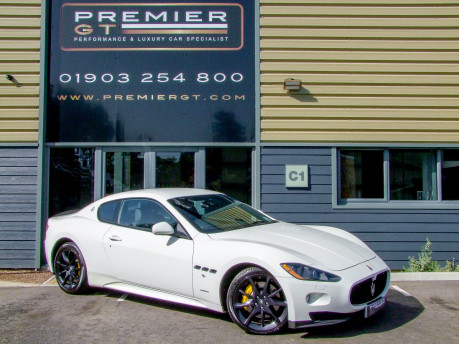 Maserati Granturismo S 4.7 V8 MC SHIFT COUPE. SORRY, NOW SOLD. SIMILAR VEHICLES REQUIRED.