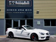 Mercedes-Benz SL Series AMG SL63 5.5 BITURBO ROADSTER, AIRSCARF, PANORAMIC ROOF, SPORTS SUSPENSION 55