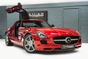 Mercedes-Benz SLS AMG. 6.2 V8. LEMANS RED. CARBON INTERIOR PACK. B & O BEOSOUND. 1 OWNER. 2