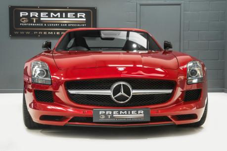 Mercedes-Benz SLS AMG. 6.2 V8. LEMANS RED. CARBON INTERIOR PACK. B & O BEOSOUND. 1 OWNER. 4