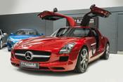 Mercedes-Benz SLS AMG. 6.2 V8. LEMANS RED. CARBON INTERIOR PACK. B & O BEOSOUND. 1 OWNER. 7