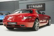 Mercedes-Benz SLS AMG. 6.2 V8. LEMANS RED. CARBON INTERIOR PACK. B & O BEOSOUND. 1 OWNER. 9