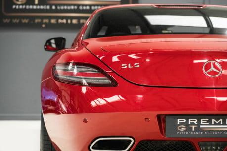 Mercedes-Benz SLS AMG. 6.2 V8. LEMANS RED. CARBON INTERIOR PACK. B & O BEOSOUND. 1 OWNER. 27