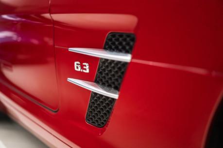 Mercedes-Benz SLS AMG. 6.2 V8. LEMANS RED. CARBON INTERIOR PACK. B & O BEOSOUND. 1 OWNER. 23