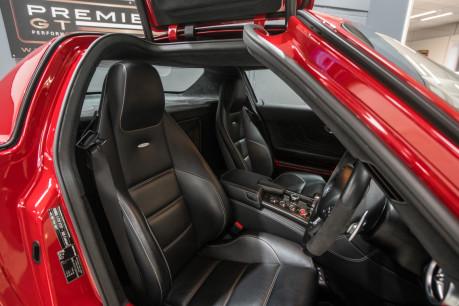 Mercedes-Benz SLS AMG. 6.2 V8. LEMANS RED. CARBON INTERIOR PACK. B & O BEOSOUND. 1 OWNER. 32