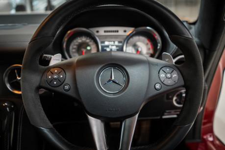 Mercedes-Benz SLS AMG. 6.2 V8. LEMANS RED. CARBON INTERIOR PACK. B & O BEOSOUND. 1 OWNER. 41
