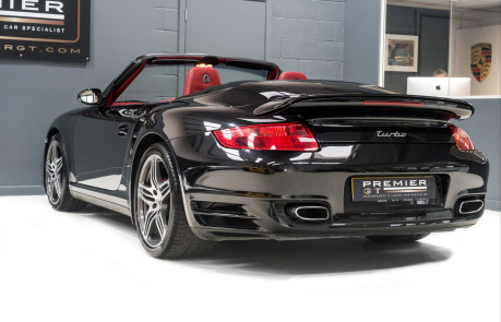 Porsche 911 997 GEN 1.5 3.6i TWIN-TURBO MANUAL CONVERTIBLE, SPORTS CHRONO PACKAGE PLUS 8