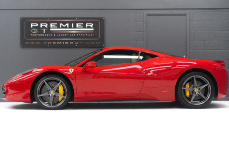 Ferrari 458 ITALIA DCT 4.5 COUPE. SORRY, NOW SOLD. SIMILAR VEHICLES REQUIRED. 4