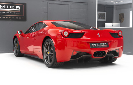 Ferrari 458 ITALIA DCT 4.5 COUPE. SORRY, NOW SOLD. SIMILAR VEHICLES REQUIRED. 7