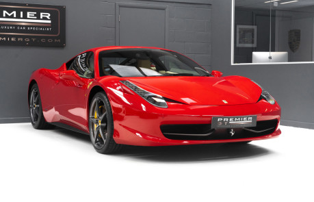 Ferrari 458 ITALIA DCT 4.5 COUPE. SORRY, NOW SOLD. SIMILAR VEHICLES REQUIRED. 8