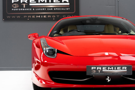 Ferrari 458 ITALIA DCT 4.5 COUPE. SORRY, NOW SOLD. SIMILAR VEHICLES REQUIRED. 13
