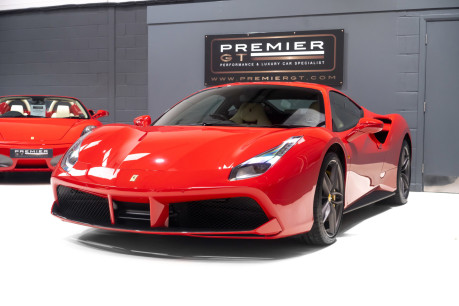 Ferrari 488 GTB 3.9 TWIN-TURBO V8. NOW SOLD. CALL US TODAY TO SELL YOUR FERRARI. 3