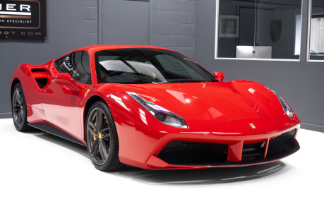 Ferrari 488 GTB 3.9 TWIN-TURBO V8. NOW SOLD. CALL US TODAY TO SELL YOUR FERRARI. 8
