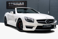 Mercedes-Benz SL Series AMG SL63 5.5 BITURBO ROADSTER, AIRSCARF, PANORAMIC ROOF, SPORTS SUSPENSION