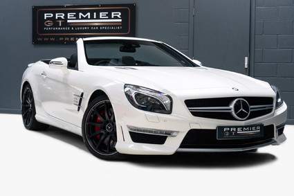 Mercedes-Benz SL Series AMG SL63 5.5 BITURBO ROADSTER. NOW SOLD. CALL TODAY TO SELL YOUR MERCEDES.