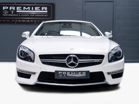 Mercedes-Benz SL Series AMG SL63 5.5 BITURBO ROADSTER, AIRSCARF, PANORAMIC ROOF, SPORTS SUSPENSION 2