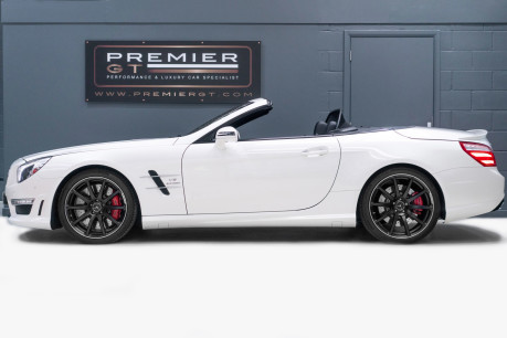 Mercedes-Benz SL Series AMG SL63 5.5 BITURBO ROADSTER, AIRSCARF, PANORAMIC ROOF, SPORTS SUSPENSION 4