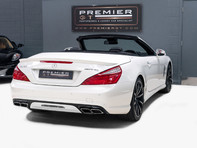 Mercedes-Benz SL Series AMG SL63 5.5 BITURBO ROADSTER, AIRSCARF, PANORAMIC ROOF, SPORTS SUSPENSION 6