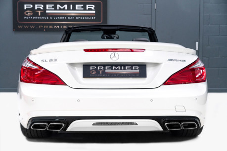 Mercedes-Benz SL Series AMG SL63 5.5 BITURBO ROADSTER, AIRSCARF, PANORAMIC ROOF, SPORTS SUSPENSION 7