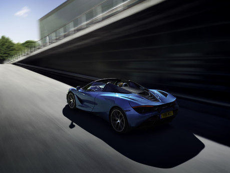 The McLaren 720S Spider is here: taking open air driving to the next level! 16