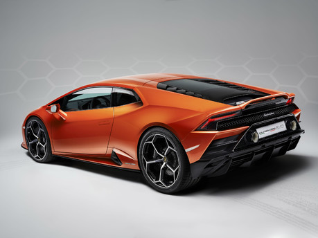 It's the supercar we've all been waiting for – say hello to the new Huracan Evo. 8