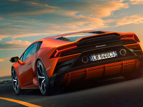 It's the supercar we've all been waiting for – say hello to the new Huracan Evo. 15