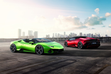 New Lamborghini Huracan EVO Spyder to be unveiled at the Geneva Motor Show