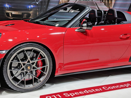 From Concept To Reality, The Porsche 911 Speedster Makes Its Return
