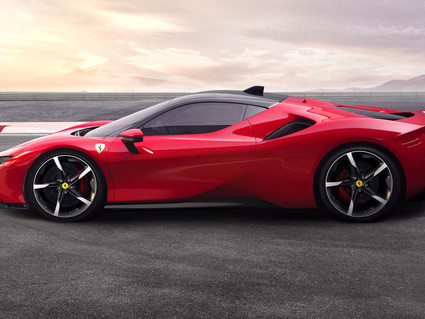 Meet The Ferrari SF90 Stradale, Ferrari's First Plug-In Hybrid