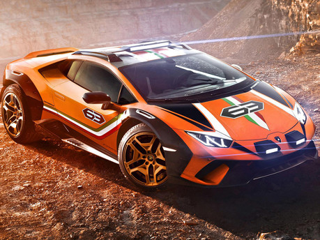 Lamborghini Goes Off Road, Meet The Huracan Sterrato 2