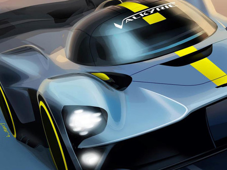 Aston Martin Valkyrie to Compete for Le Mans Honours