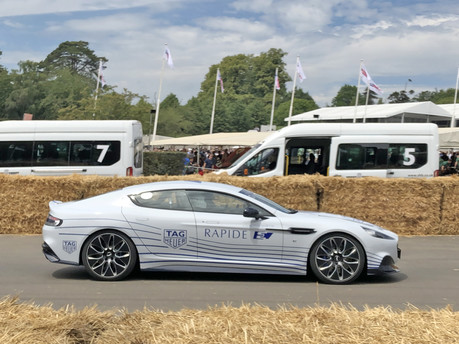 The Aston Martin Rapide-E: Aston Joins The Electric Revolution 2