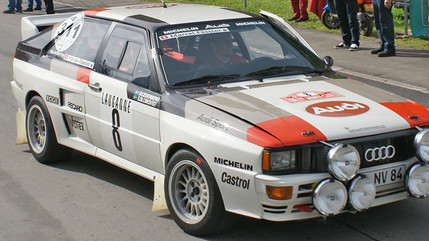 Celebrating a Rallying Icon: The Audi Quattro