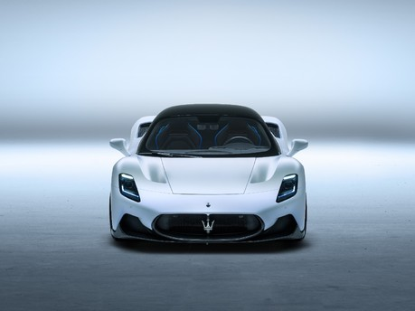 An Exciting New Arrival Sets The Benchmark of A New Era For Maserati