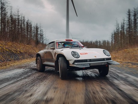Singer Have Created Arguably the Most Outlandish, Off-Road 911 Ever