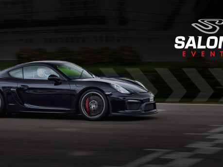 Another Fantastic New Supercar Focussed Partnership - Say Hello To Salone Events!