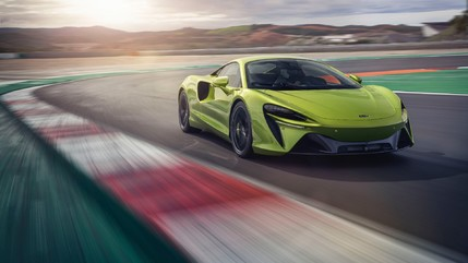 The Artura - a New Direction for British Supercar Manufacturer, McLaren