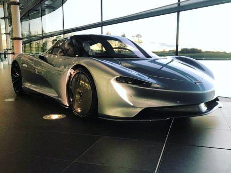 McLaren Speedtail squares up to real-world testing 4