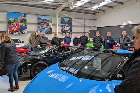 Track Day Breakfast Meet at Premier GT 15